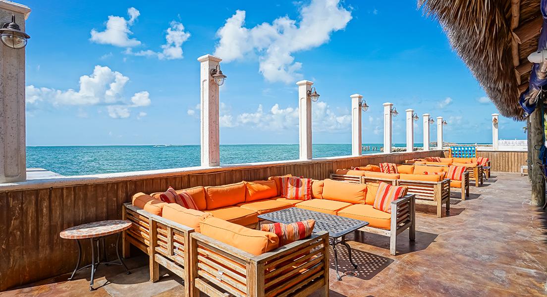 Havana Jack's Oceanside Restaurant outdoor seating