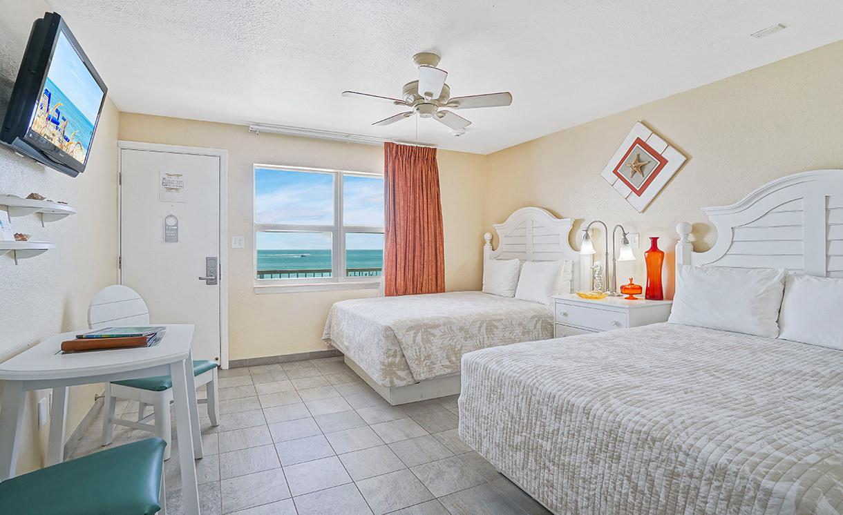 Ocean views double queen room