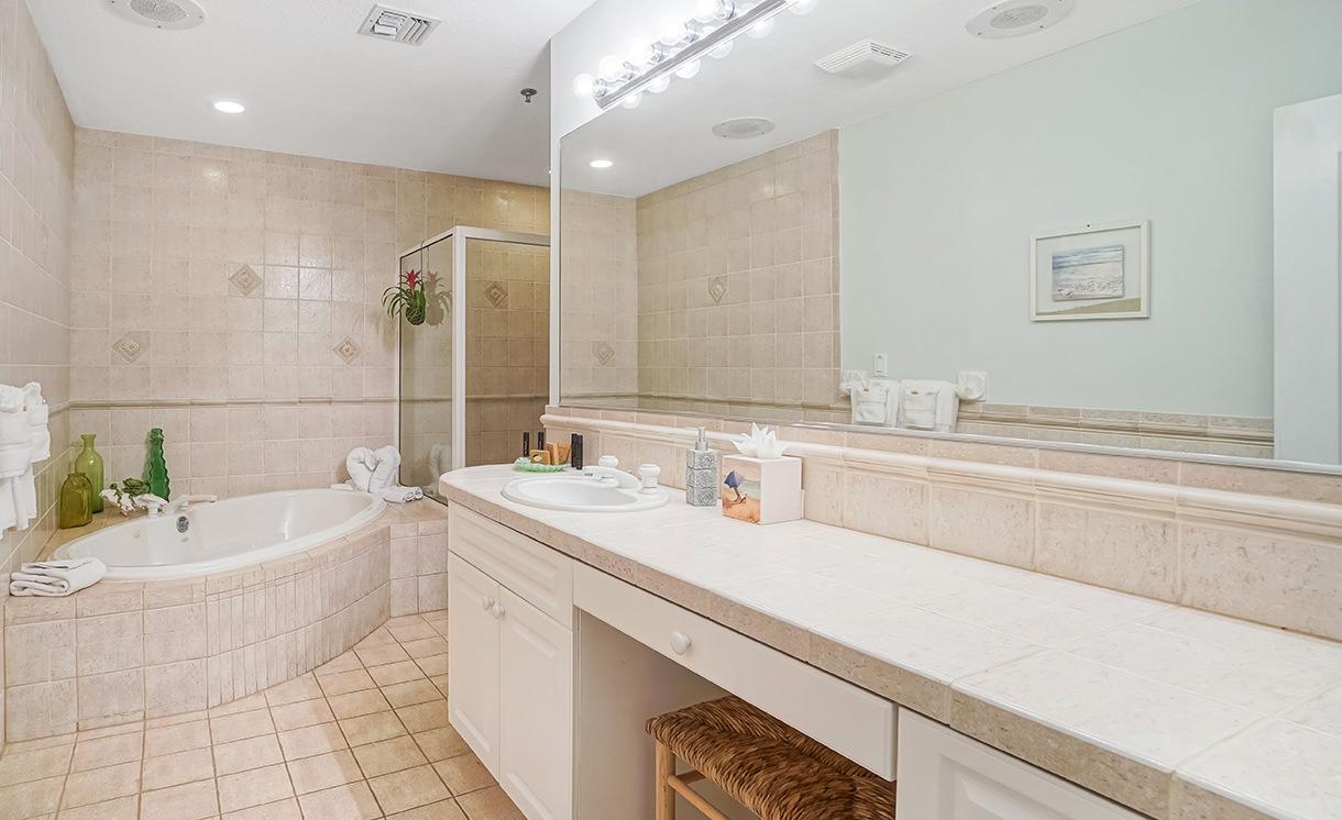 Villas bathroom